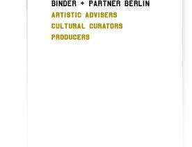 BINDER + PARTNER BERLIN
